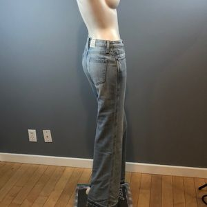 NWOT Current/Elliott Girl Crush Wide Leg Jeans